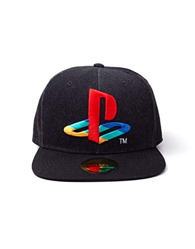 Playstation - Logo Denim Snapbac [ ]