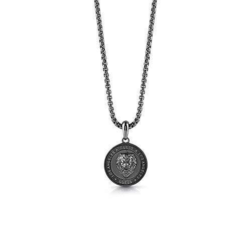 Guess Herren-Herrenkette Lion Coin Edelstahl One Size 87859533