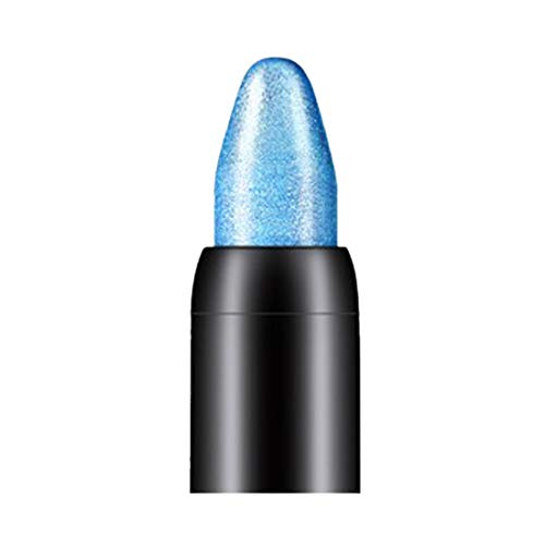 Anboo Portable Eyeshadow Pencil Bling Highlight Face Eye Silhouette Shimmer Cosmetic Stick (Sky Blue - coolthings.us
