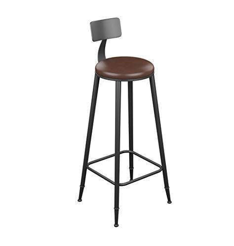 LAXF-taburetes altos cocina sillón Taburete de bar de estilo vintage Taburetes de bar de hierro for