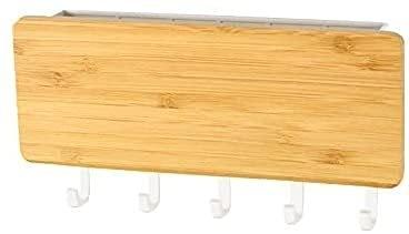 sacfun 1 Pedazo de Nueva Pared de Pared Decorativa Dries de la Pared Caja de Almacenamiento Caja de Almacenamiento Caja de Almacenamiento Caja de Gancho de Gancho Montaje de Pared de Madera.