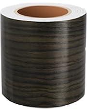 (pont du monde) ウォールステッカー マスキングテープ 壁紙シール はがせる (10cm×10m) (11黒胡桃)