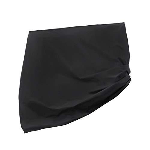 Morningtime tafeltennistafel, tafeltennis tafelkleed, pingpong, tafelkleed, UV-bescherming en stofdicht, 210T Oxford, draagbaar tafelkleed voor buiten, afmeting 170 x 190 x 70 cm, kleur zwart