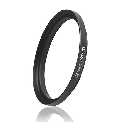 Ares Foto® Step Up Filteradapter Adapter Ring. CNC-gefrästes Aluminium. Kompatibel mit Objektiven Aller Hersteller: Canon Sony Nikon Fujifilm Olympus Pentax Leica Tamron Sigma (46mm – 49mm)