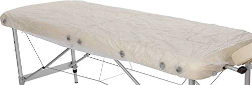 Hygiene-Spannbezug für Massageliegen, Vlies, wasser- und ölfest, 195 x 75 cm, 10 Stück