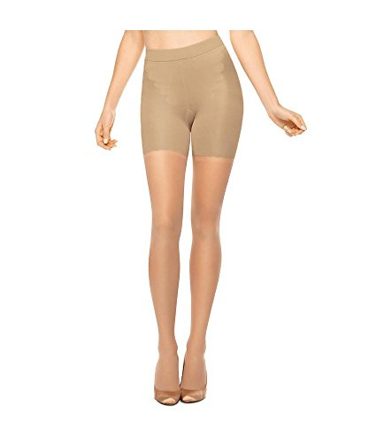 """Spanx All The Way with control leg Pantyhose with Super Control: Size """"D"""", Color """"BUFF"""""""