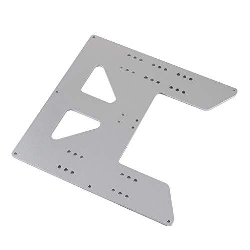 Gazechimp Impresora 3D Heatbed Aluminum Y Carriage Plate Upgrade para Prusa I3 Anet A8 A6