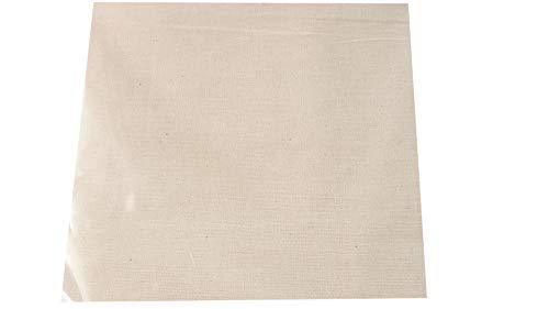 Tela Calico Mill de 160 cm de ancho/ancho de peso medio sin blanquear, 100% algodón natural, apta para arte y manualidades, lienzo pequeño, mediano y proyectos creativos, 150 g/m² (10 metros)