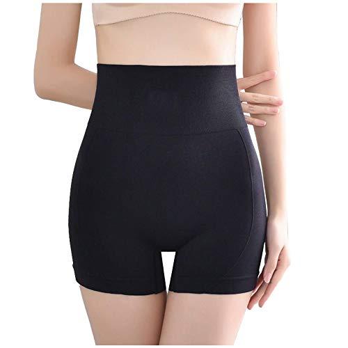Pantalones Cortos Levantamiento glúteos Pantalones Yoga para Mujeres, Pantalones Fitness Levantamiento Seguridad Abdominales Resbalón Entrenador Cintura Control Abdomen Adelgazante Muslos