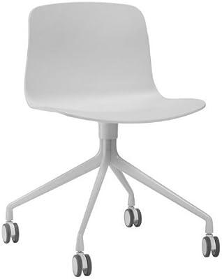 Hay Dk - About a chair 14 heno sobre un marco de aluminio giratoria de heno