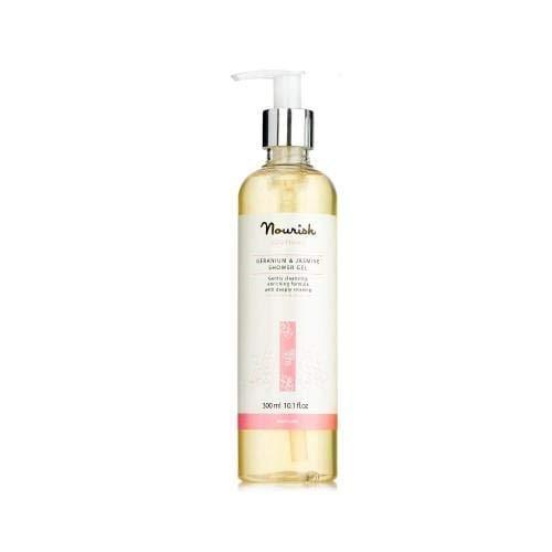 Nourish London Geranium & Jasmine Shower Gel