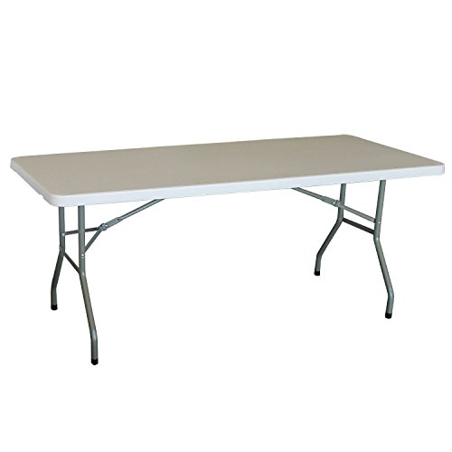 Lifetime Garden 54217 Table Foldable 183 x 76 x 74 cm