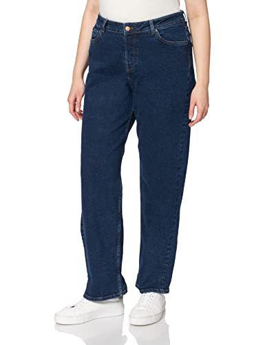 Jack & Jones JJXX JXSEVILLE Loose MW CC5001 Noos Jeans, Dark Blue Denim, 29/34 aux Femmes