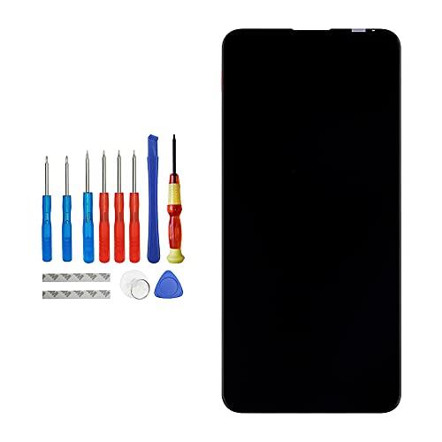 Vvsialeek Pantalla LCD compatible con Asus Zenfone 6 2019 ZS630KL pantalla táctil LCD con kit de herramientas