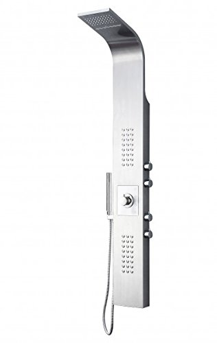 Duschpaneel Edelstahl Duschsystem mit SEDAL-Thermostat Duschsäule 8815