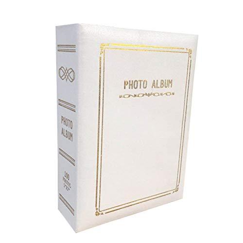 Álbum de fotos da família LIOOBO, álbum de fotos com capa de couro