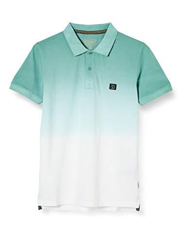 ESPRIT Herren 040EE2K313 Polohemd, 371/TEAL Green 2, Large