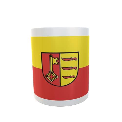 U24 Tasse Kaffeebecher Mug Cup Flagge Dischingen