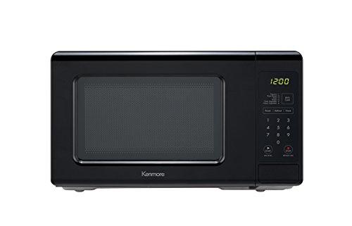 Kenmore 70719 Countertop Microwave, 0.7 cu. ft, Black