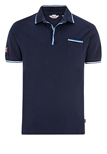 Lonsdale Poloshirt Johnstone dunkelblau M