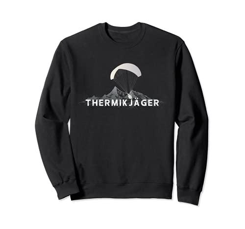Paragleite Gleitschirmflieger Shirt für Paragleiter Sweatshirt