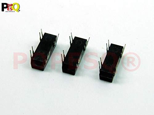 POPESQ® 3 Stk. x Relais 5V max. 250VDC / 0.5A PCB #A3218