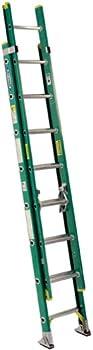 Werner D5920-2 20-Feet Fiberglass Type II 225 lb. Extension Ladder