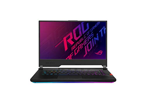 "ROG Strix SCAR 15 G532LWS-AZ157T, Notebook con Monitor 15,6"" FHD Anti-Glare 240Hz, Intel Core i7-10875H, RAM 8GB, NVIDIA GeForce RTX 2070 SUPER 8GB GDDR6, 512GB+512GB SSD PCIE, Windows 10 Home, Nero"