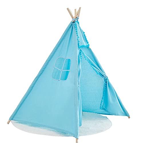 1,1 m/1,35 m tenda per bambini India casa dei giochi al coperto angolo lettura ragazzo e ragazza piccola casa casa delle bambole oggetti di scena per foto possono essere piegati e riposti senza occu