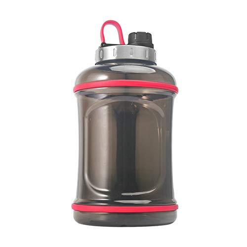 2.2L Botella Agua Gimnasio Botella Agua Deporte Unisex hidratación Botella Gran Botella de Agua Botellas de Agua a Prueba de Fugas