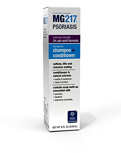 MG217 Psoriasis Scalp Solutions, Shampoo + Conditioner, 8 Ounce (5603)