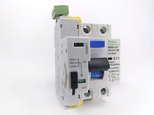 Interruttore differenziale a riarmo automatico 40A (Type A. Componente Elettronico)