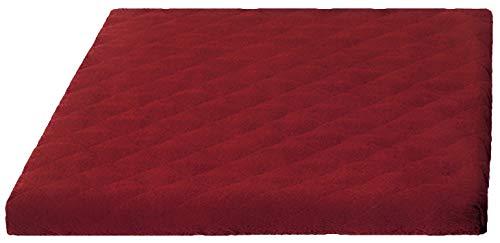 Trockner und Waschmaschinenschonbezug in versch. Farben, Größe: ca. 60 x 60 x 5 cm von Brandseller (rot)