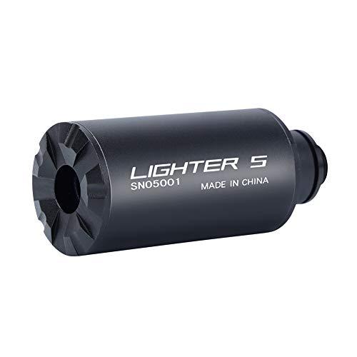 Tactical Airsoft Tracer Lighter S Tracer Unit para Pistola Verde Flash de Alta Potencia Unidad de trazador más Ligera Accesorios Airsoft Ligeros