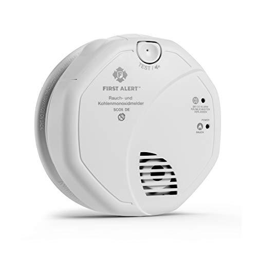 First Alert FA-SC-05-2096631 - Detector de Humo y monóxido de Carbono (Funciona con Pilas)