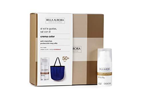 BELLA AURORA CC Cream tono medio + bolsa de playa 300 gr, beige