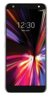 LG K40 X420 32GB Unlocked GSM Phone w/ 16MP Camera - Aurora Black (Renewed)