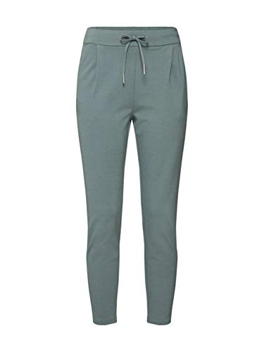 VERO MODA Damen VMEVA MR Loose String Pant Color Hose, Laurel Wreath, XS(34)