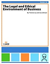 Legal and Ethical Environment of Business