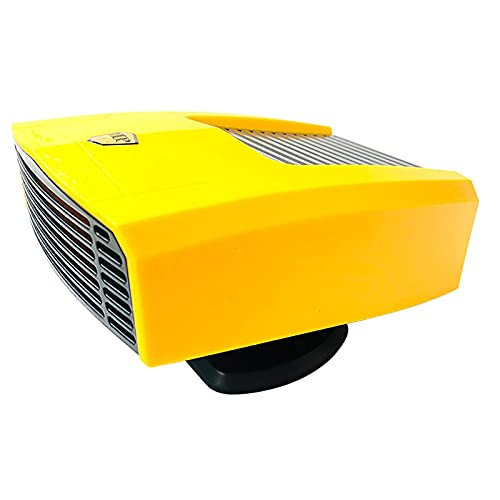 Riscaldatore per auto 2 in 1 Sbrinatore portatile a ventola 12V / 24V Riscaldamento Raffreddamento Antiappannamento rapido del parabrezza, Antiappannamento rapido del parabrezza da 180 W Protezione da