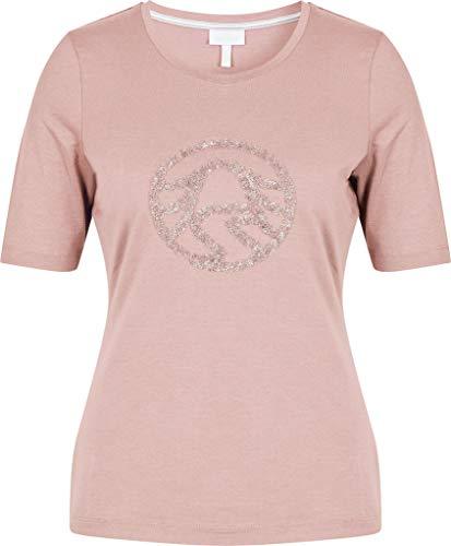 Sportalm Damen Poloshirt Größe 46 EU Rot (rosa)