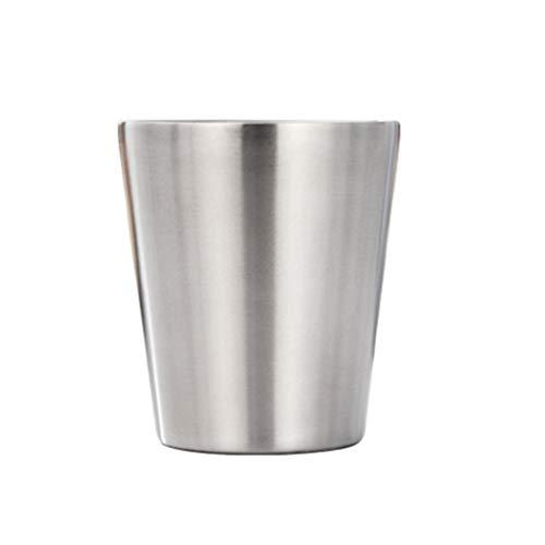 teng hong hui Doble Capa Taza de la Taza de Acero Inoxidable 304 de Bebida Copa de Doble Capa de la Taza Taza de café Botella de Agua con Aislamiento de la Taza de Cerveza vajilla casero