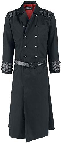 Gothicana by EMP Aenima Männer Militärmantel schwarz 4XL 100% Baumwolle Gothic, Industrial, Rockwear