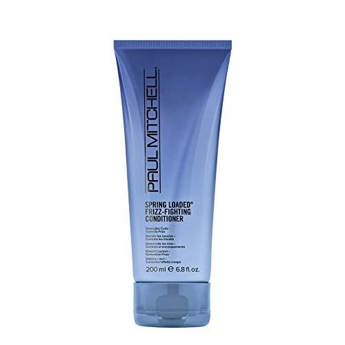 Paul Mitchell Spring Loaded Frizz-Fighting Conditioner - Haar-Spülung für Locken und Wellen, entwirrende Haar-Pflege mit Anti-Frizz Effekt, 200 ml