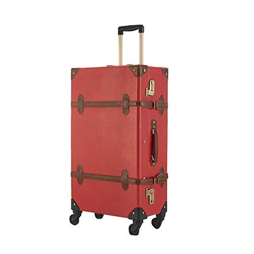 GGYMEI Maleta Vintage, Cerradura De Combinación De Gran Capacidad Adecuado for Viajes Y...