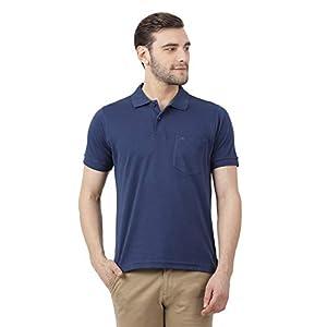 Monte Carlo Purple Solid Cotton Polo Collar Tshirts 16 31MCfmWckGL. SS300