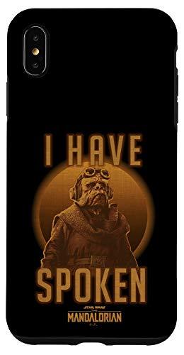 iPhone XS Max Star Wars: The Mandalorian Kuiil I Have Spoken Portrait Case