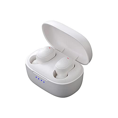 【Ipinkiong】 ワイヤレスイヤホン 【 Bluetooth 5.1】 Bluetooth イヤホン 40時間連続再生 スポーツ用 高音質 マグネット搭載 AAC対応 マイク付き ハンズフリー通話 完全防水 ノイズキャンセリング搭載 自動ペアリング ブルートゥース イヤホン Siri対応 イヤーフック付き iPhone/ipad/Android適用 Bluetooth 5.1 Wireless Earbuds