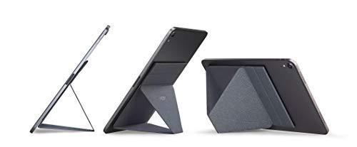 MOFT X タブレットスタンド iPad pro 9.7 13インチ対応 極薄 超軽量 折りたたみ 角度調整可能 収納便利 持ち運び便利 [正規代理店] グレー