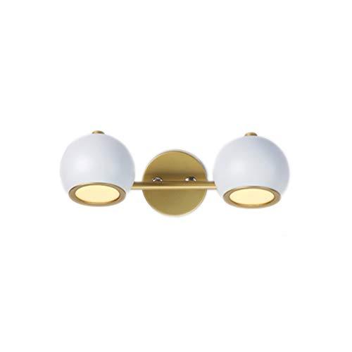 Lamp voor spiegel voor, voor badkamer, waterbestendig, LED, creatief, make-up, spiegelkast, wastafel